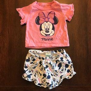 Adorable Disney Minnie Two Piece Set